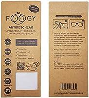 FOOGY Paño de Microfibra antivaho para Gafas   paño de Limpieza en seco   no se Necesitan líquidos adicionales