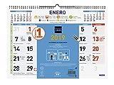 Finocam 781400019 - Calendario de pared 2019