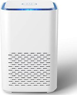 Purificador de Aire Portátil,con Filtro HEPA 13 Verdadero,Función de Aromaterapia,2 Modos,Luz Nocturna,Silenciosa para Dor...