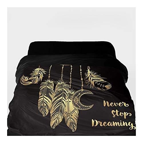 3D-Bettbezug Decke/Tröster Abdeckung 220x240 (Color : 19, Size : 155x215cm)