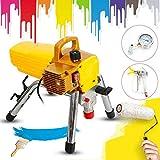 Spruzzatore di vernice senza aria, 2,8 l/min, 1800 W, Airless 220 V, con accessori