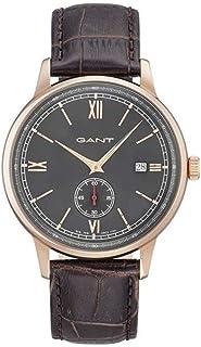 جانت ساعة رسمية للرجال، جلد، انالوج بعقارب - GT023003
