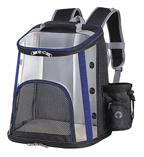 Portable Dog Carrier,Cat Backpack for Travel,Compressible Pet Carry Handbag with Mesh Windows,Lightweight and Excellent Ventilation/C / 340×260×380mm