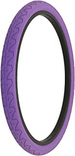 Alta Bicycle Tire Duro 26 x 1.95 Color Bike Tire Slick City Style Pattern