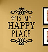 This is My Happy Place Vinyl Wall Art Decal Sticker