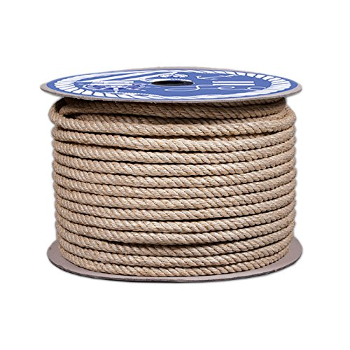 mqf 00300508X Cuerda cáñamo cable, beige, 8mm