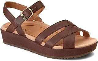 Vionic Women's Tropic Violet Sandal - Ladies Sandals Concealed Orthotic Support