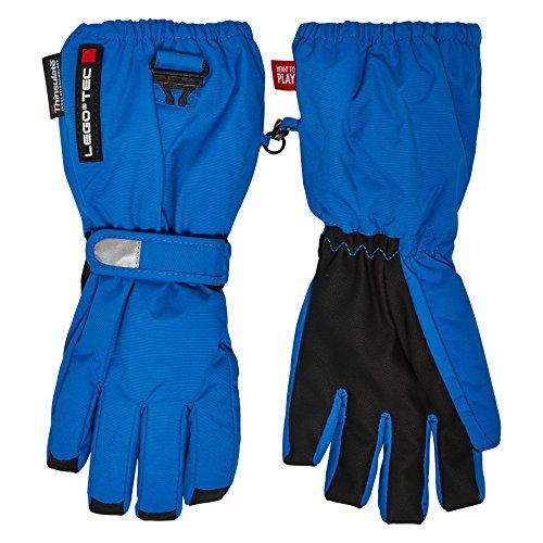 Lego Wear Finger Handschuhe ABRIEL 672 Blue, 146/152