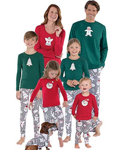 Pijamas Navidad Familia Conjunto Pijama Navideñas Papa Noel