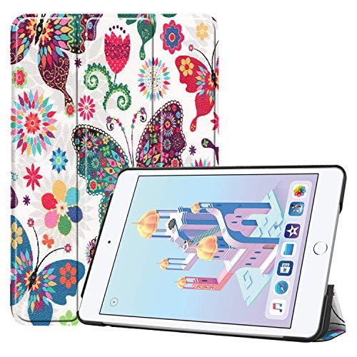 Tablet Hülle für Apple iPad Mini 5 7.9 Zoll Slim Hülle Etui mit Standfunktion & Auto Sleep/Wake Funktion