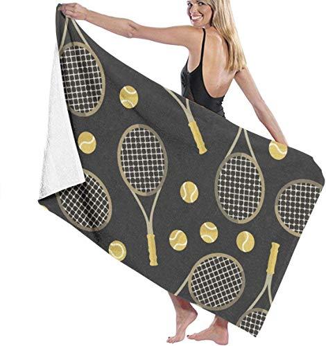 Cómodas toallas playa Microfibra Poliéster Raquetas