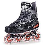 MISSION INHALER nls3 hockey sobre patines Patines sr - EE = wide, 11 = 47