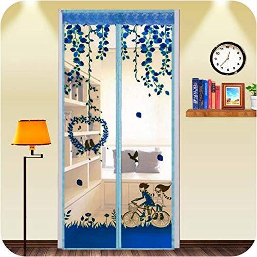 Sommerhaus Schlafzimmer elektromagnetische Moskitonetz Tür Anti-Fly Tür Bildschirm Fenster Magnetschirm Mesh Tür Tür Bildschirm Tür A1 B100xH210