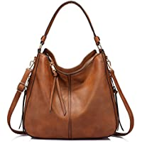 Realer Women's Faux Leather Hobo Bag