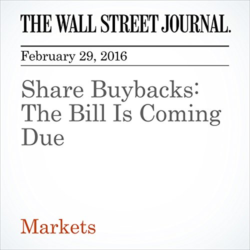 Share Buybacks: The Bill Is Coming Due cover art