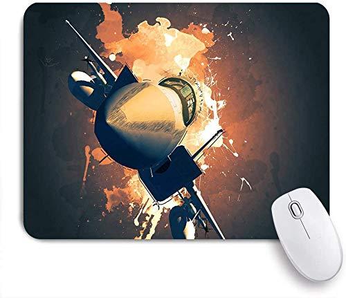 Gaming Mouse Pad Custom, 3D-Computergrafik Einer Alten ägyptischen Dame und eines zahmen Geparden, rutschfeste Gummibasis Office Mousepad Mat Desk