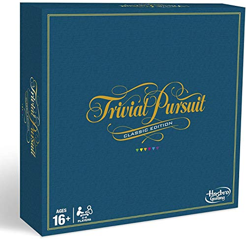 Hasbro Gaming C1940 - Trivial Pursuit Spiel, Classic Edition (englisch)