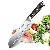 Symbom Couteau Santoku Couteau de Cuisine Couteau de Cuisine Japonais Couteau de...