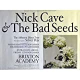 NICK CAVE & The Bad Seeds TOURPOSTER KONZERTPLAKAT ABBATOIR