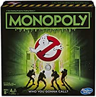 MONOPOLY - Ghostbusters Edition - Movie Inspired Game - Who you gonna Call - Kids and Family Board Games and Toys for...