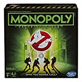 Monopoly Game: Ghostbusters Edition Board Game for Kids Ages 8 and Up