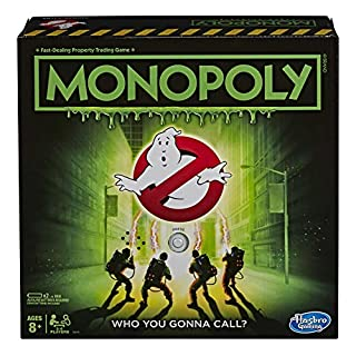 MONOPOLY - Ghostbusters Edition - Movie Inspired Game - Who you gonna Call - Kids and Family Board Games and Toys for Kids - Boys and Girls - Ages 8+ (B083YKZXVF) | Amazon price tracker / tracking, Amazon price history charts, Amazon price watches, Amazon price drop alerts