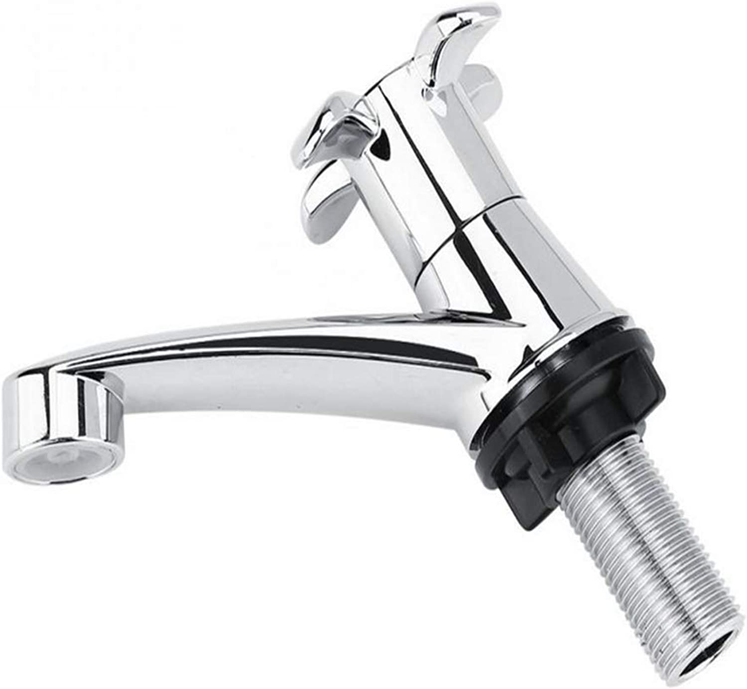 360 Degree redating Solid Brass Faucet Single Cold Faucet Water Tap Basin Kitchen Sink Accessories Basin