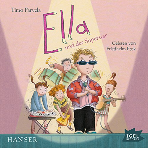 Ella und der Superstar audiobook cover art