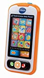 VTech Touch and Swipe Baby Phone (Frustration Free Packaging), Orange (Renewed)