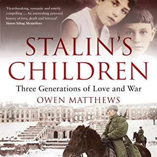 Stalin's Children audiobook cover art