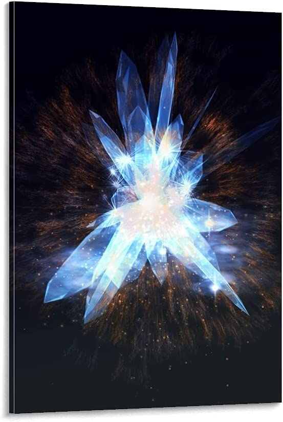 woplmh Blue Max 56% OFF NEW before selling ☆ Diamond Poster Decorative L Canvas Painting Wall Art