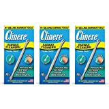 Clinere® Ear Cleaners, 10 Count, (Pack of 3) Earwax Remover Tool Safely and Gently Cleaning Ear Canal at Home, Ear Wax Cleaner Tool, Itch Relief, Ear Wax Buildup, Works Instantly, Earwax Cleaners