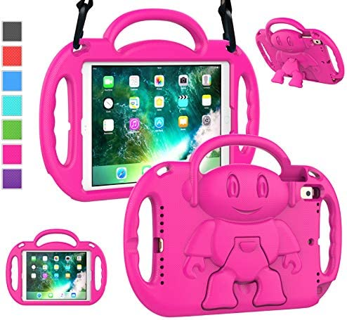 LTROP iPad 6th Generation Case for Kids iPad 9 7 Case 2018 2017 iPad Air 2 Case Shockproof Light product image