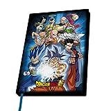 ABYstyle - Dragon Ball Super - Taccuino A5 - Gruppo Universo 7