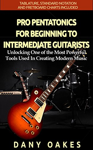 PRO PENTATONICS FOR BEGINNING TO INTERMEDIATE GUITARISTS: Unlocking One of the Most Powerful Tools Used In Creating Modern Music (Guitar Skills Series) (English Edition)