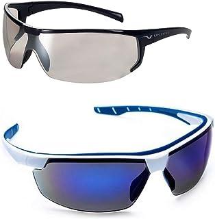 Óculos Esportivo Feminino Masculino Ciclismo Kit 2 Unidades