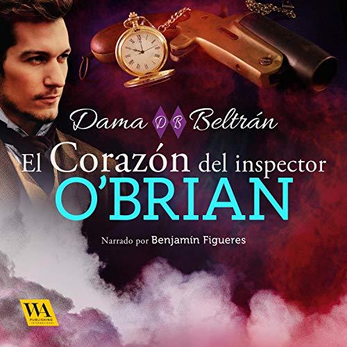 Diseño de la portada del título El corazón del inspector O'Brian