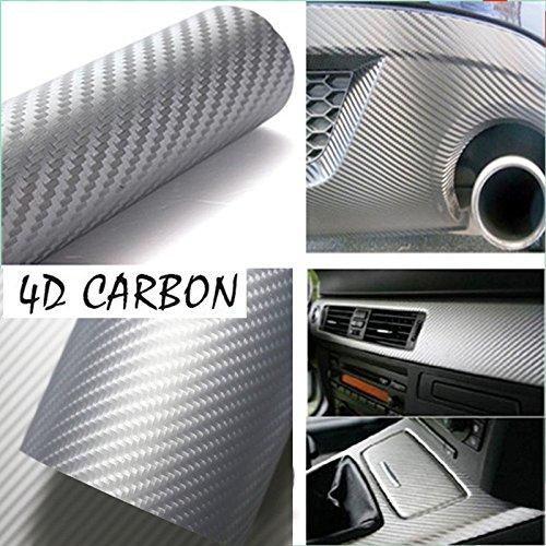 Green carbon hi gloss tech art not printed 2ft x 5ft laminated vinyl car wrap