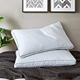 Best Feather Pillows - Yalamila White Bed Pillows for Sleeping with 100% Review