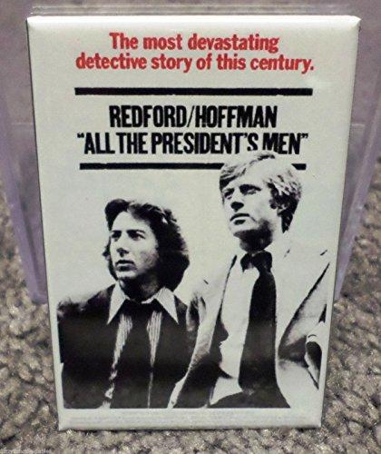 All the Presidents Men Redford Movie Poster 2 x 3 Refrigerator Locker MAGNET