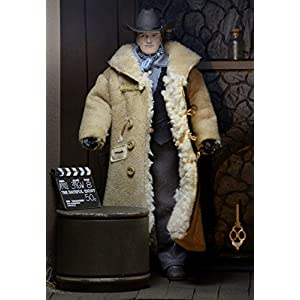 NECA- Quentin Tarantino Retro, Figura de 20.32 cm, The Hateful Eight, NEC0NC14943