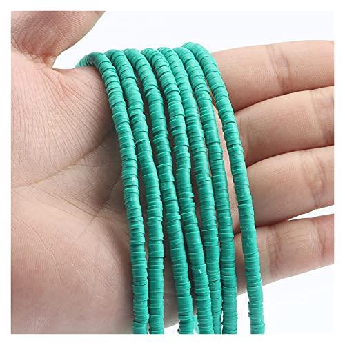 MURUI NTZ 6mm African Vinyl Beads Collar Mujeres Hombres Bohemian Polímero Arcilla Suave Cerámica Spacer Beads para Joyería Que Hace Bricolaje Pulseras Yc0416 (Color : Dark Blue, Item Diameter : 6mm)