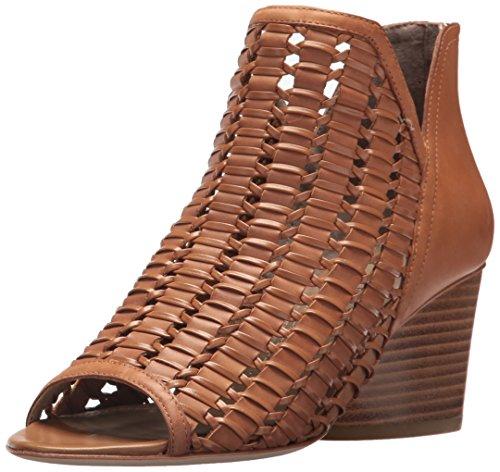 Donald J Pliner Women's JACQI Wedge Sandal, Fawn, 7 Medium US