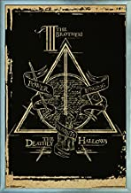 Trends International Wizarding World: Harry Potter-The Deathly Hallows-The III Brothers-Symbol Wall Poster, 22.375