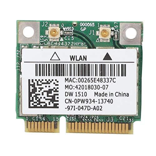 PCIe WLAN Karte, Dual Band 300 Mbit/s WLAN PCI Express Adapter, Mini PCI E WLAN Karte Unterstützt Windows 2000/XP/VISTA/7 32 Bit/64 Bit/MAC OS X