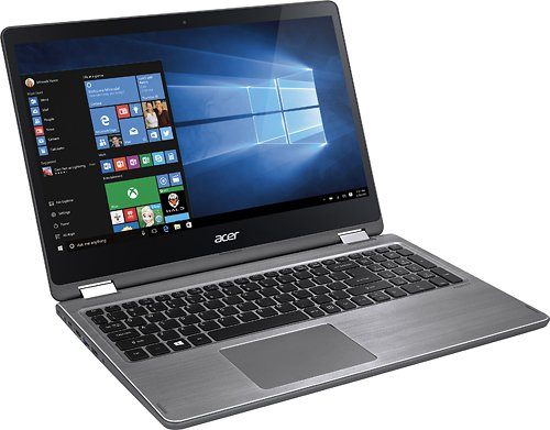Product Image 2: Acer Aspire R 15 R5-571TG-78G8-15.6″ FHD Touch – 7th Gen i7-7500U – 940MX – 12GB – 1TB
