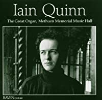 Plays the Great Organ at Methuen by Bach