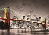 Puzzles Para Adultos Rompecabezas De 1000 Piezas Puente De Brooklyn De La Ciudad De York Y Art Painting Puzzle Decoración Rompecabezas Educativos Juegos De Bricolaje Brain Challenge Puzzle Sets