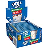 Pop-Tarts Made with Whole Grain, Frosted Strawberry, 17.6oz (120 Count)