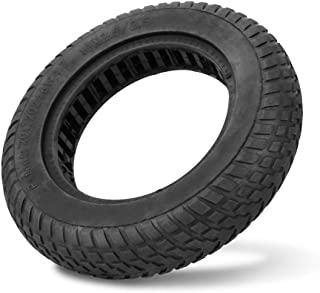 Explosion-proof Tire,Durable Explosion-proof Tubeless Solid Tire for 10 inch Electric Scooter Solid Tire Electric Scooter Tire (Black)